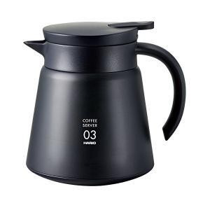 真空断熱二重構造のステンレス製コーヒーサーバー 。 おいしいコーヒーをより長く愉しむためのアイテム。...