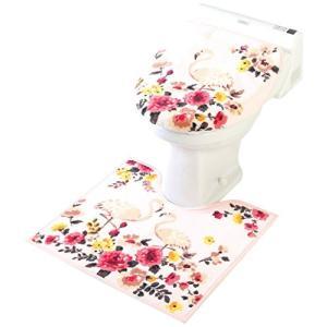 フラミンゴ トイレ2点セット 洗浄暖房用 55×60cm 洗浄フタカバー ヨコズナクリエーション n-kitchen