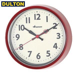 DULTON ウォールクロック レッド S426-207RD ダルトン|n-kitchen