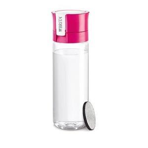 BRITA ブリタ 水筒 直飲み 600mL 携帯用 浄水器 ボトル フィル&ゴー ピンク fill & go|n-kitchen