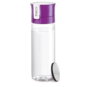 BRITA ブリタ 水筒 直飲み 600mL 携帯用 浄水器 ボトル フィル&ゴー パープル fill & go|n-kitchen