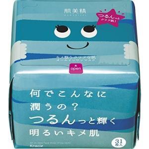 肌美精 デイリーモイスチュアマスク(キメ透明感) 31枚 クラシエホームプロダクツ|n-kitchen