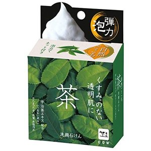 自然ごこち 茶 洗顔石けん 80g|n-kitchen