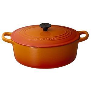 ル・クルーゼ ココット・オーバル2502 25cmオレンジ|n-kitchen