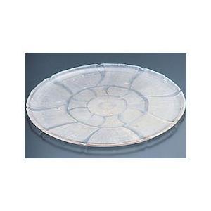 カーライル ポリカーボネイト 丸型マグノリアトレー6943 PMG13|n-kitchen