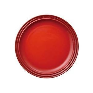 ル クルーゼ ラウンド プレート LC 910140-19Cレッド|n-kitchen