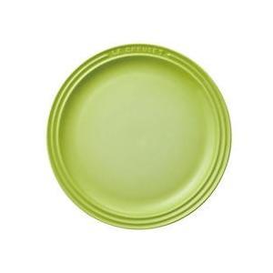 ル クルーゼ ラウンド プレート LC 910140-19Fグリーン|n-kitchen