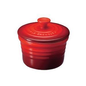 ル クルーゼ ラムカンS(フタ付)2個組 910026-00Cレッド|n-kitchen