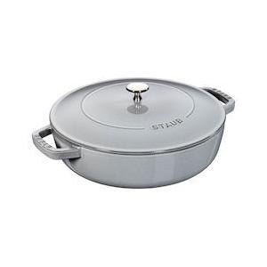 ストウブ ブレイザー ソテーパン 24cm 40511-475チェリー|n-kitchen
