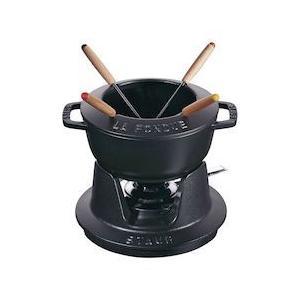 ストウブ フォンデュセット 16cm 40511-970黒|n-kitchen