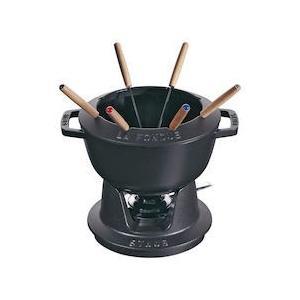 ストウブ フォンデュセット 20cm 40511-972黒|n-kitchen