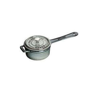 ストウブ スモール ソースパン 10cmグレー40509-536|n-kitchen