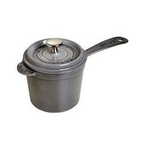 ストウブ スープポット 18cm 40510-316グレー|n-kitchen