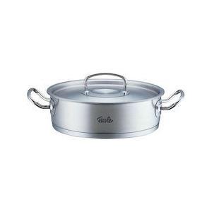 18-10シャローパン 84-373 蓋付 24cm AHI2401|n-kitchen