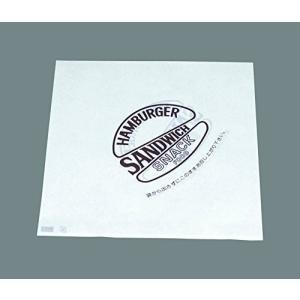 バーガー袋(500枚入) 茶00034|n-kitchen