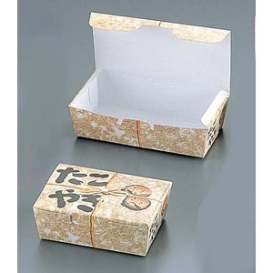 タコ焼キBOX 縄(100枚入) 184378小|n-kitchen