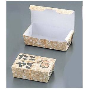 タコ焼キBOX 縄(100枚入) 184379大|n-kitchen