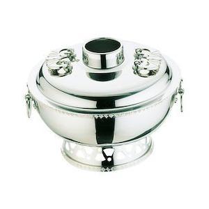 UK18-8雷門渕ホーコー鍋 ガス用 25cm QHC10025|n-kitchen