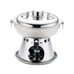 UKステンレス 1人用 ホーコー鍋 固形用 QHC1801|n-kitchen