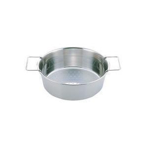UK 18-8 パンチング丸フライヤー 穴径φ3mm26cm|n-kitchen