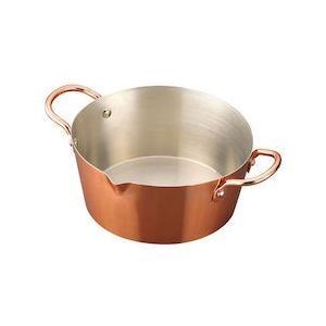 カラット銅ノアゲナベ 18cm AAG4701|n-kitchen