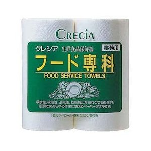 クレシア フード専科(生鮮食品保存紙) 2R(1箱24ロール入)|n-kitchen