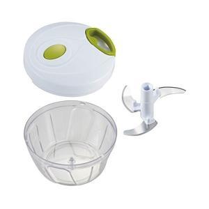 竹原製缶 ひもを引くだけ 簡単みじん切りチョッパー 時短調理 ホワイト 440mL A-80 n-kitchen