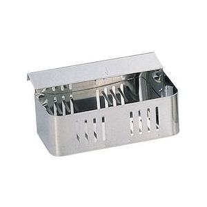 18-0流掛式クリーナーケース シングル 大 JKL02001|n-kitchen