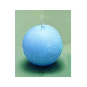 ボールキャンドル 40ヶ入 40044 ブルー PKYB24A|n-kitchen