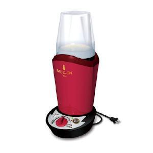 小型精米機 ライスロン SM-200 レッド エムケー精工 品番:ALI4601|n-kitchen