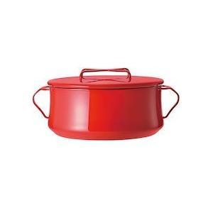 ダンスク コベンスタイル 両手鍋 4QTチリレッド ADV1406|n-kitchen