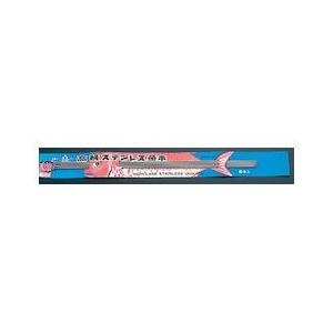 18-0台紙付魚串 6本組 450MM DSK06450|n-kitchen