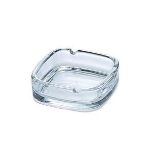 ガラス製 スクエア灰皿 P-05536 PHIC6|n-kitchen