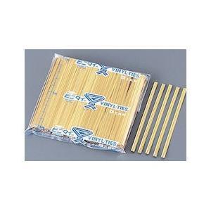 ビニタイ PETカット品 1000本入 4MM×8cm金 XBN0201|n-kitchen