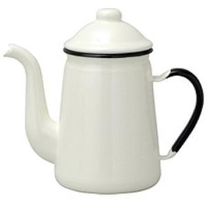 ホーローコーヒーポット #11ホワイト FKC10111C|n-kitchen