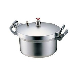 ホクア 業務用アルミ圧力鍋 18L AAT01018|n-kitchen