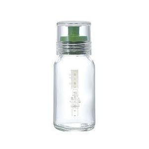 ハリオ ドレッシングボトルスリム 120グリーン BDL9201|n-kitchen