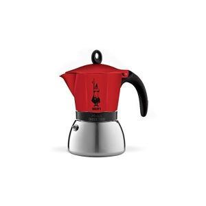 ビアレッティ モカインダクション 6カップ用 レッド 4923|n-kitchen
