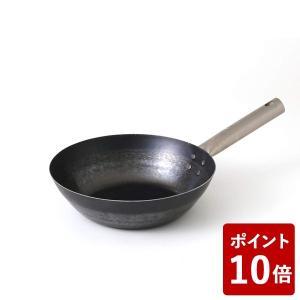 鉄打出しフライパン TARO 24cm IH不可 14606941 山田工業所 フジイ 中華フライパン|n-kitchen