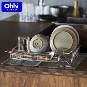 大木製作所 水切りバット 大 水切りカゴ ステンレス 日本製 Outline 01 Ohki アウトラインシリーズ 41202021|n-kitchen