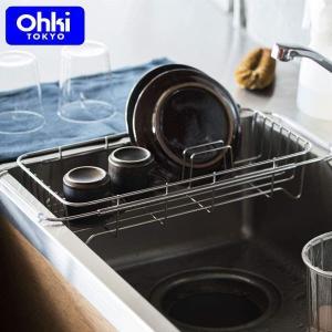 大木製作所 シンクバット シンクに設置する水切り ステンレス 日本製 Outline 03 Ohki アウトラインシリーズ 41202023|n-kitchen