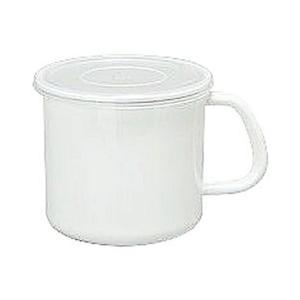 WhiteSeries持ち手付ストッカー丸型SMS-12M CD:475012|n-kitchen