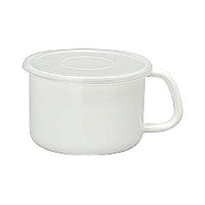 WhiteSeries持ち手付ストッカー丸型LMS-14M CD:475013|n-kitchen