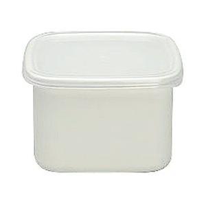WhiteSeriesスクウェアMシール蓋付WS-M CD:475002|n-kitchen