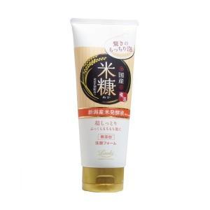 ロッシモイストエイド 国産ホイップ洗顔K 米ぬか油配合 120g|n-kitchen