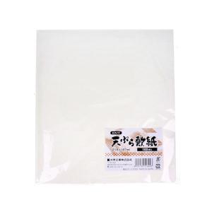 業務用 Eタイプ 天ぷら敷紙 218×197mm 100枚入|n-kitchen