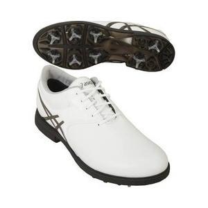 アシックス ゲルエース レジェンドマスター2 ゴルフシューズ TGN918 ホワイト/ガンメタル 24.5cm asics|n-kitchen