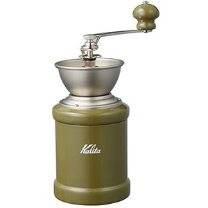 カリタ コーヒーミル KH-3C(アーミイグリーン) #42128|n-kitchen