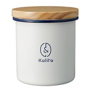 カリタ キャニスター ホーロー丸型 #44251|n-kitchen