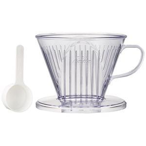 カリタ プラスチック製コーヒードリッパー つば広タイプ(4~7人用) 103-DL #06003|n-kitchen